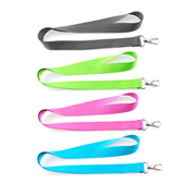 Lanyard poliester colores fluor