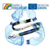 Lanyard de PET Reciclado Sublimacion CMYK