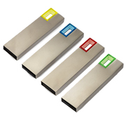 Pendrive usb rectangulo moderno