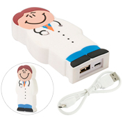 Power bank figuras 2D personalizadas