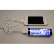 Bateria externa original - Powerbank luminoso