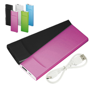 Cargador power bank de 3600mAh ultra compacto