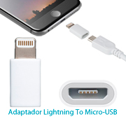 Adaptador MFI lightning para dispositivos Apple