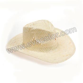 Sombrero tejano cowboy de paja - Regalo publicitario - Tiempo libre y a2356096fae