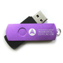 Pen drives personalizados con clip girable