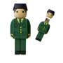 USB Goma Guardia Civil - Impresion en 3D