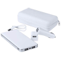 Set power bank con adaptador para el coche