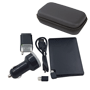 Set powerbank tarjeta 2600 mAh con adaptador lightning